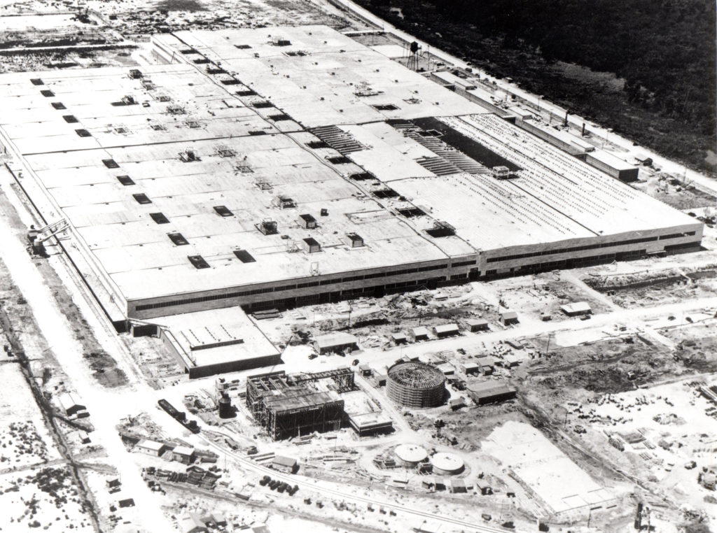 August 2019 - Construction of MAF Bldg. 103 in August 15, 1943