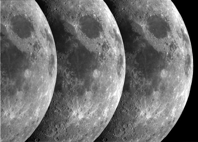 Moon Tryptich