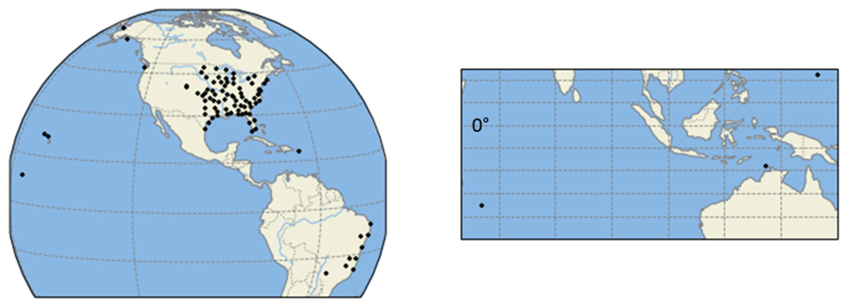 Ground Radar Sites for the GPM Validation Network