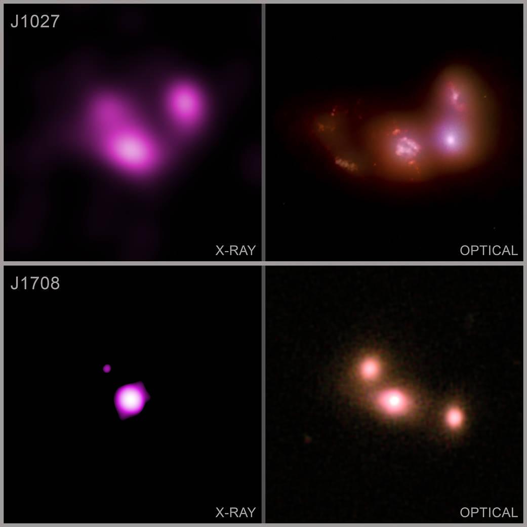 Chandra double triple