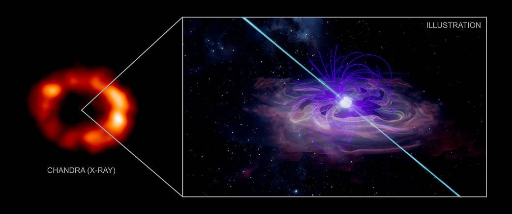 Chandra reclusive supernova