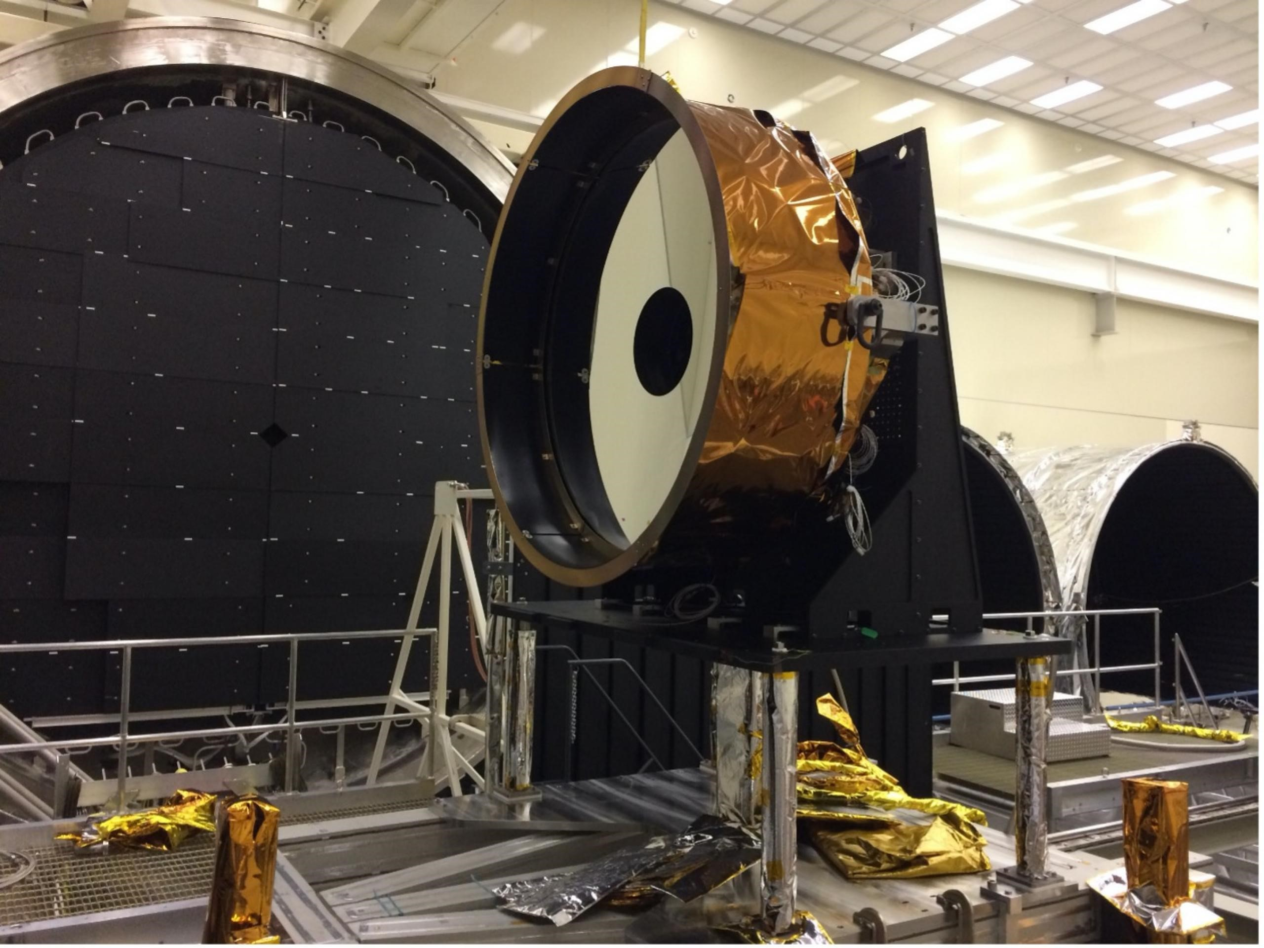 ULE Mirror at MSFC XRCF for Environmental Testing