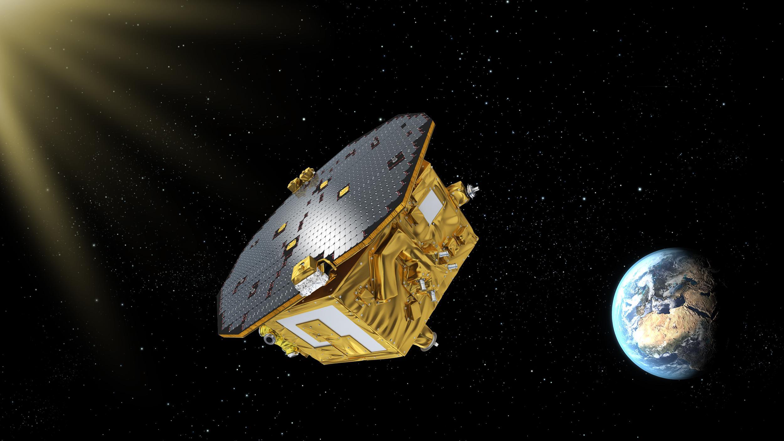LISA Pathfinder Spacecraft