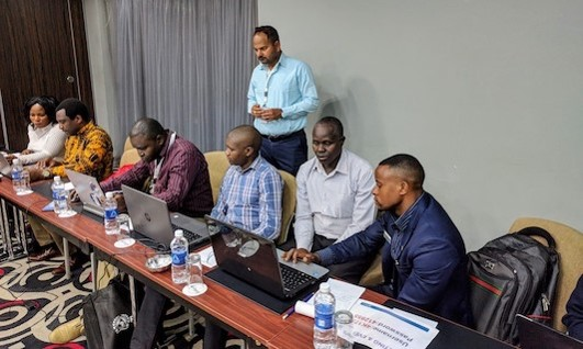 EWX Training in Lukasa, Zambia